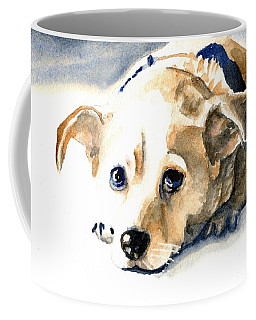 Small Dog With Tan Short Hair  Coffee Mug
