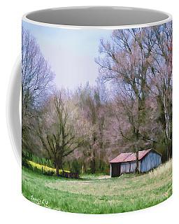 Small Farm Building Coffee Mug