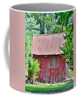 Small Red Barn - Lewes Delaware Coffee Mug