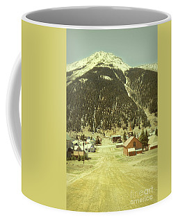 Coffee Mug featuring the photograph Small Rocky Mountain Town by Jill Battaglia