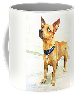 Small Short Hair Brown Dog Coffee Mug