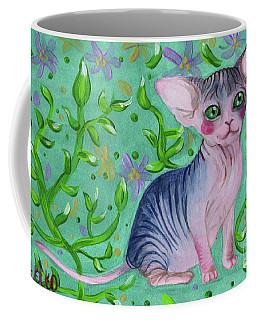 Small Sphynx Coffee Mug by Akiko Okabe