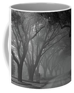 Small Town Foggy Morning Coffee Mug by Deborah Smith