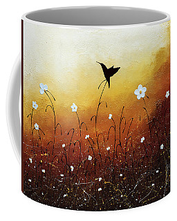 Coffee Mug featuring the painting Small Treasure by Carmen Guedez