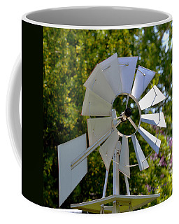 Small Windmill Coffee Mug by Kae Cheatham