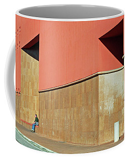 Small World Coffee Mug by Joe Jake Pratt