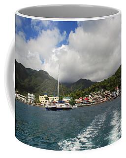Coffee Mug featuring the photograph Smalll Village by Gary Wonning