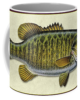 Smallmouth Bass Id Coffee Mug