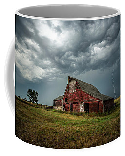 Coffee Mug featuring the photograph Smallville by Aaron J Groen