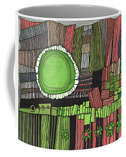 Sun Gone Green Coffee Mug by Sandra Church