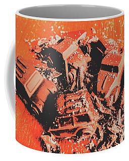 Smashem Crashem Cars Coffee Mug