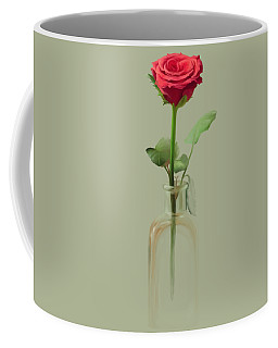 Coffee Mug featuring the painting Smell The Rose by Ivana Westin