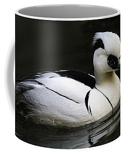 Smew Coffee Mug by Living Color Photography Lorraine Lynch
