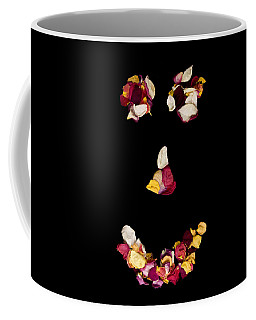 Smiley Rose Coffee Mug