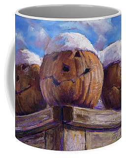 Coffee Mug featuring the pastel Smilin Jacks by Billie Colson
