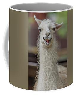 Smiling Alpaca Coffee Mug