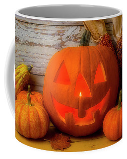 Smiling Jack O Latern Coffee Mug