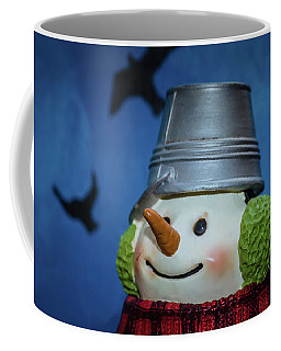 Smiling Snowman Coffee Mug