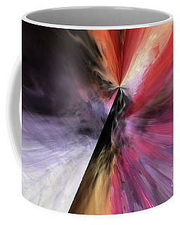 Coffee Mug featuring the digital art Smite The Evil  by Margie Chapman
