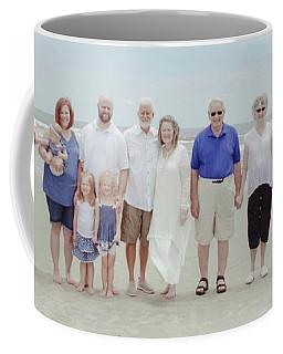 Smith Family At The Beach Coffee Mug