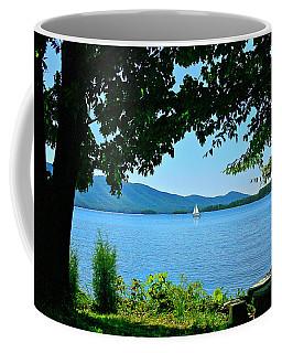 Smith Mountain Lake Sailor Coffee Mug