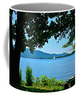 Smith Mountain Lake Sailor Coffee Mug
