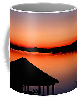 Smith Mountain Sunset Coffee Mug