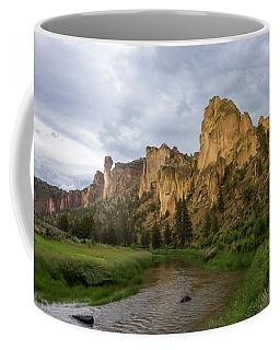 Smith Rock Cliffs Coffee Mug
