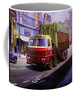 Smith's Scammell Routeman II Coffee Mug by Mike  Jeffries