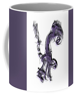 Smoke 01 Purple Coffee Mug