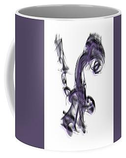 Smoke 01 Purple Coffee Mug