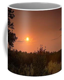 Smoke Haze Sunset Coffee Mug