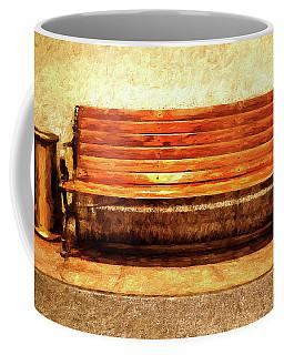 Smoker's Bench Coffee Mug