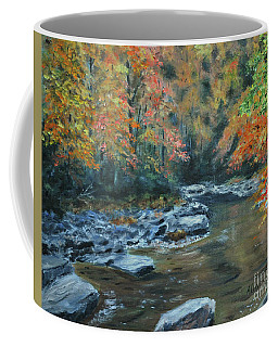Smokey Mountain Autumn Coffee Mug
