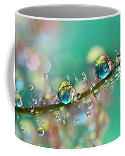Smokey Rainbow Drops Coffee Mug