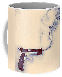 Smoking Gun Coffee Mug