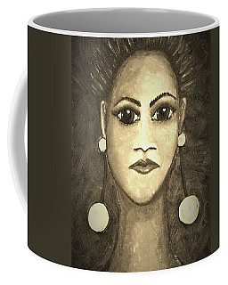 Smoking Woman 1 Coffee Mug