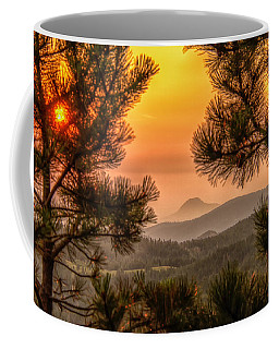 Smoky Black Hills Sunrise Coffee Mug