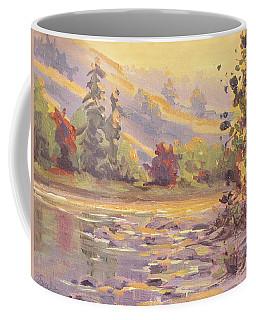 Smoky Morning Coffee Mug