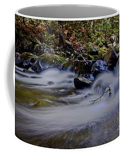 Coffee Mug featuring the photograph Smoky Mountain Stream by Douglas Stucky