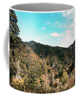 Coffee Mug featuring the photograph Smoky Mountains by Sally Sperry
