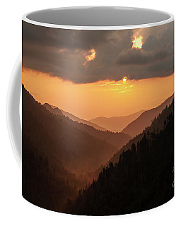 Smoky Mountains Sunset - D010157 Coffee Mug