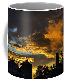 Coffee Mug featuring the photograph Smoky Sunset by Jeremy Lavender Photography