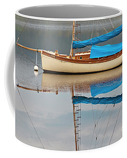 Coffee Mug featuring the photograph Smooth Sailing by Werner Padarin