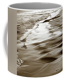 Coffee Mug featuring the photograph Smooth Waves by Marilyn Hunt