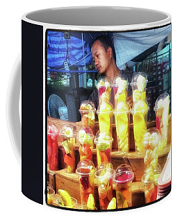 Coffee Mug featuring the photograph Smoothie Nirvana. Choose A Cup Of by Mr Photojimsf