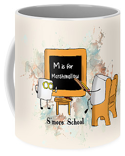 Smore School Illustrated Coffee Mug by Heather Applegate