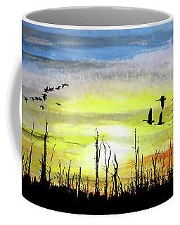 Adieu Snag Forest Coffee Mug by R Kyllo