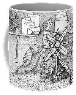 Snail Flower Coffee Mug
