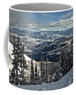 Snake Creek Pass Overlook Coffee Mug